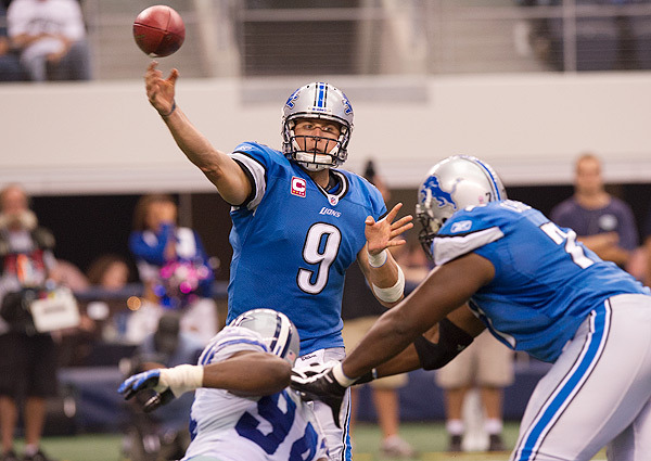 Matt Stafford must be better in 2013 if the Lions hope to return to the playoffs
