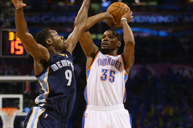"Is Tony Allen truly the ""Durant Stopper?"""