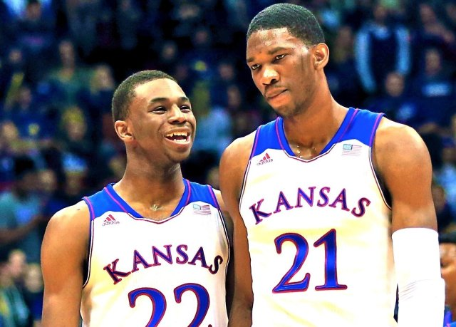 There's a good possibility in this years draft a Kansas Jayhawk will be the number 1 overall pick.