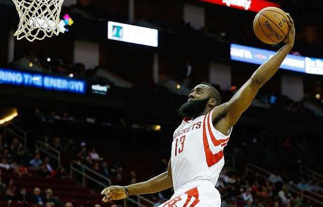 The Rockets need James Harden to do what he does best tonight- attack the rim